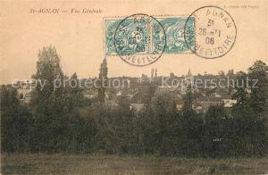 AK / Ansichtskarte Saint Agnan_Saone et Loire Vue generale Saint Agnan