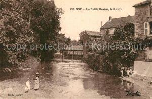 AK / Ansichtskarte Prisse La Petite Grosne le lavoir Prisse