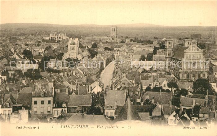 AK / Ansichtskarte Saint Omer_Pas de Calais  Saint Omer_Pas de Calais
