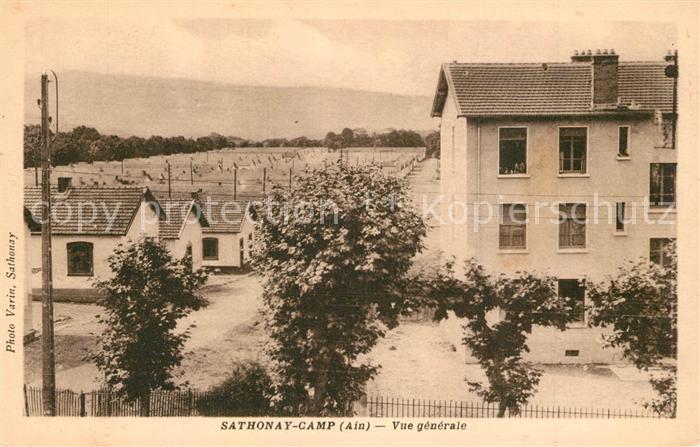 AK / Ansichtskarte Sathonay Camp  Sathonay Camp