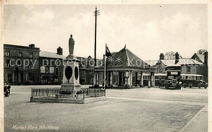 AK / Ansichtskarte Whittlesey Market Place