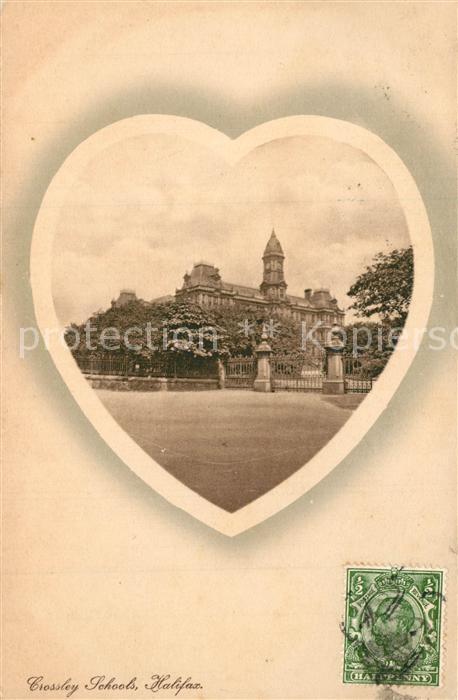AK / Ansichtskarte Halifax_Calderdale Crossley Schools