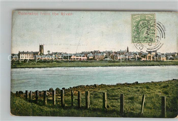 AK / Ansichtskarte Coleraine_Coleraine from the River