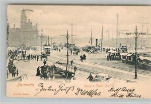 AK / Ansichtskarte Yarmouth Quay and Town Hall