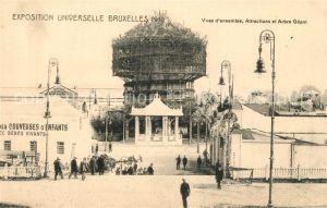 AK / Ansichtskarte Exposition_Universelle_Bruxelles_1910 Arbre Geant