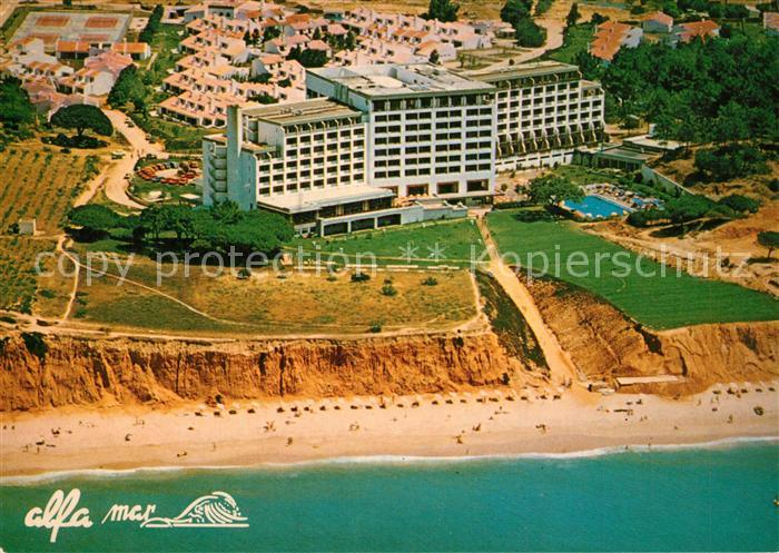 AK / Ansichtskarte Albufeira Fliegeraufnahme Hotel Alfa Mar  Albufeira