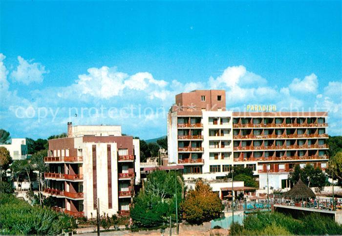 AK / Ansichtskarte Playa_de_Palma Hotel Paradiso Playa_de_Palma