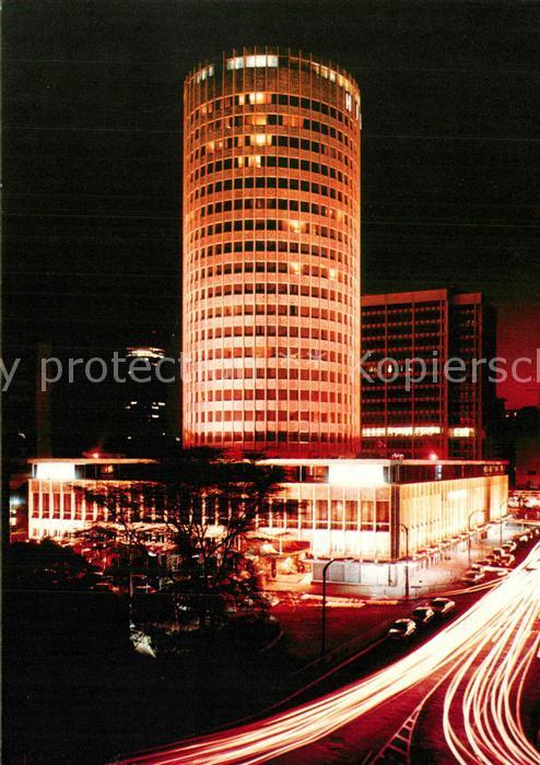 AK / Ansichtskarte Nairobi Hilton International Nairobi Nacht Nairobi