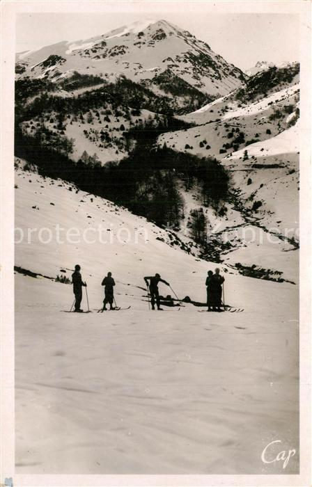 AK / Ansichtskarte Gripp_Hautes_Pyrenees Sports d hiver
