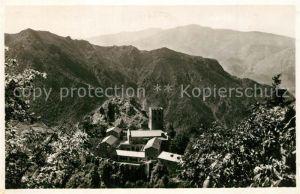 AK / Ansichtskarte Vernet les Bains Abbaye de Saint Martin du Canigou les Pyrenees Vernet les Bains