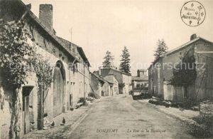 AK / Ansichtskarte Domremy la Pucelle_Vosges Rue de la Basilique Domremy la Pucelle_Vosges