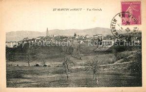AK / Ansichtskarte Saint Martin en Haut Vue generale Saint Martin en Haut