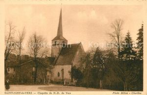 AK / Ansichtskarte Saint Igny de Vers chapelle de Notre Dame de Vers Saint Igny de Vers