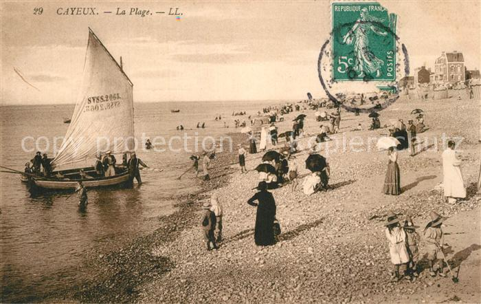 AK / Ansichtskarte Cayeux sur Mer Plage Cayeux sur Mer