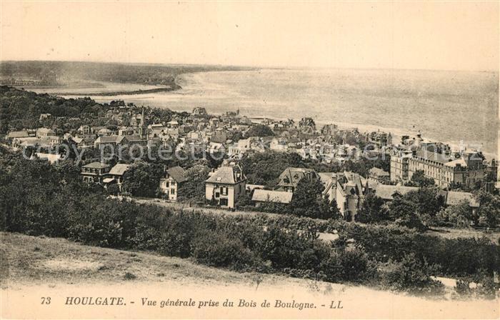 AK / Ansichtskarte Houlgate Vue prise du Bois de Boulogne Houlgate