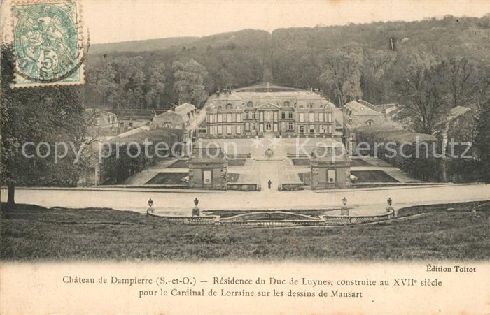 AK / Ansichtskarte Dampierre en Bresse Chateau de Dampierre Residence du Duc de Luynes  Dampierre en Bresse