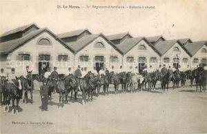 AK / Ansichtskarte Le_Mans_Sarthe 31e Regiment d'Artillerie Batterie a cheval Le_Mans_Sarthe