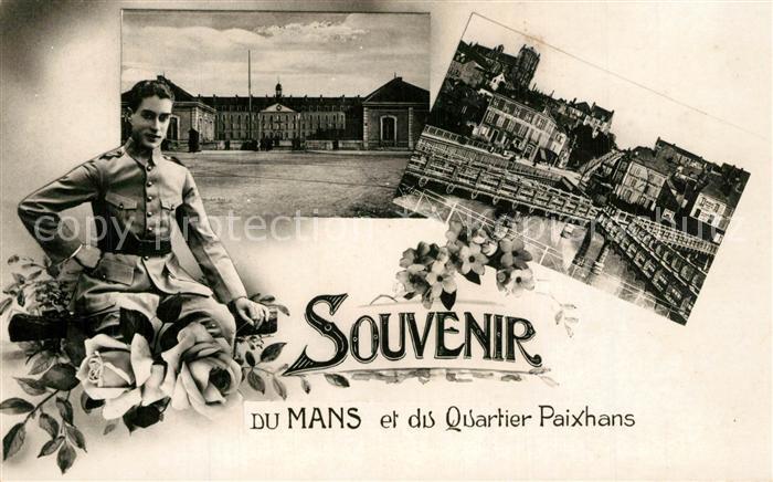 AK / Ansichtskarte Le_Mans_Sarthe Quartier Paixhans Le_Mans_Sarthe