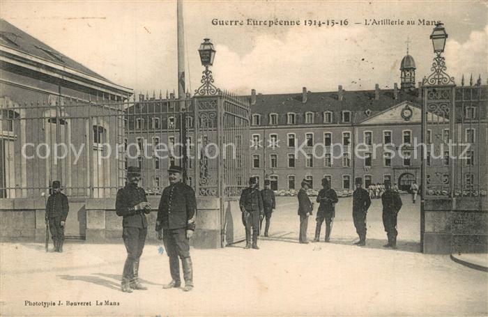 AK / Ansichtskarte Le_Mans_Sarthe Caserne du 31e Regiment d'Artillerie Le_Mans_Sarthe