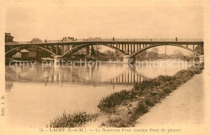 AK / Ansichtskarte Lagny sur Marne Nouveau Pont Lagny sur Marne