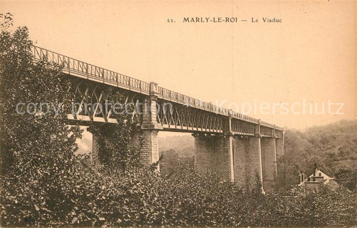 AK / Ansichtskarte Marly le Roi Le Viaduc Marly le Roi