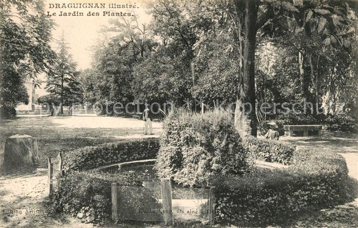 AK / Ansichtskarte Draguignan Jardin des Plantes Draguignan