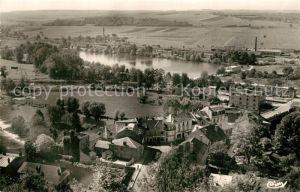 AK / Ansichtskarte Dun sur Meuse Le Lac Vert Vue cavaliere Dun sur Meuse