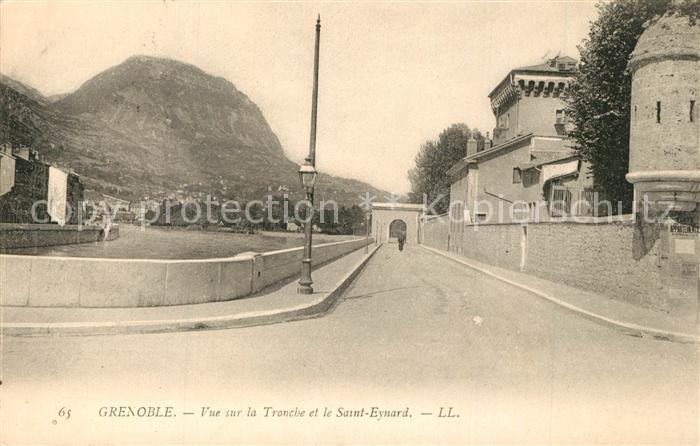 AK / Ansichtskarte Grenoble Vue sur la Tronche et le Saint Eynard Grenoble
