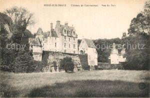 AK / Ansichtskarte Besse sur Braye Chateau de Courtanveaux Besse sur Braye