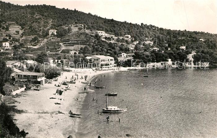 AK / Ansichtskarte Aiguebelle_Le_Lavandou La Plage Hotel des Bains Cote d Azur