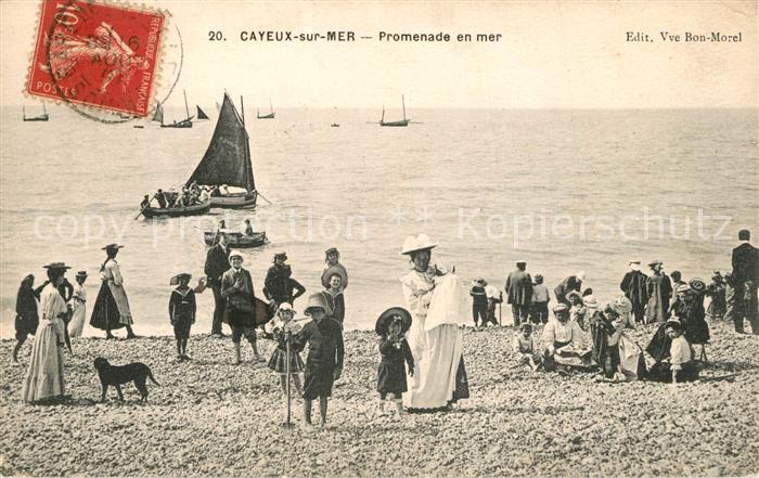 AK / Ansichtskarte Cayeux sur Mer Promenade en mer Cayeux sur Mer