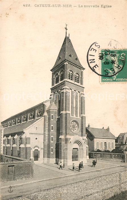 AK / Ansichtskarte Cayeux sur Mer La nouvelle Eglise Cayeux sur Mer