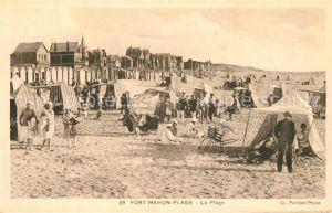 AK / Ansichtskarte Fort Mahon Plage La Plage Fort Mahon Plage