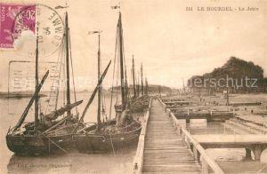 AK / Ansichtskarte Le_Hourdel La Jetee des bateaux Le_Hourdel