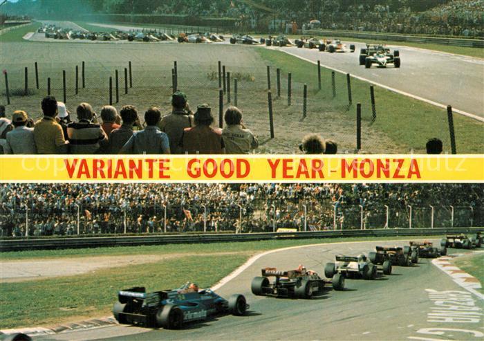 AK / Ansichtskarte Autorennen Autodromo Nazionale di Monza Gran Premio d Italia  Autorennen
