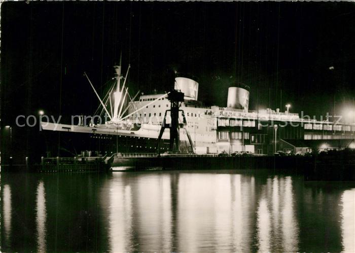 AK / Ansichtskarte Schiffe_Ships_Navires Hanseatic Steubenh?ft Cuxhaven