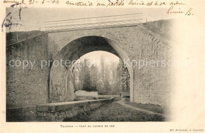 AK / Ansichtskarte Tournan Pont du Chemin de Fer Tournan