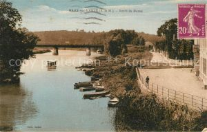 AK / Ansichtskarte Mary sur Marne Bords de Marne Mary sur Marne