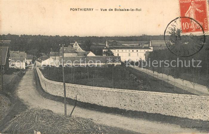 AK / Ansichtskarte Saint Fargeau Ponthierry Vue de Boissise le Roi Saint Fargeau Ponthierry 0