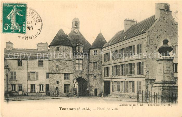 AK / Ansichtskarte Tournan en Brie Hotel de Ville Tournan en Brie 0