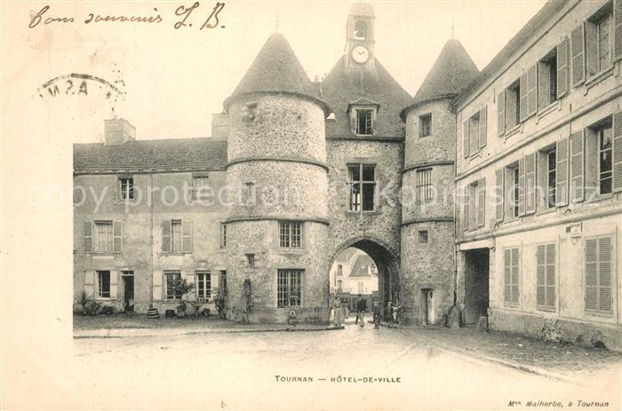 AK / Ansichtskarte Tournan en Brie Hotel de Ville Tournan en Brie