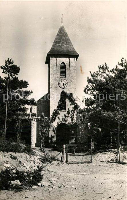 AK / Ansichtskarte Quend_Plage_les_Pins Eglise Notre Dame des Dunes Quend_Plage_les_Pins 0