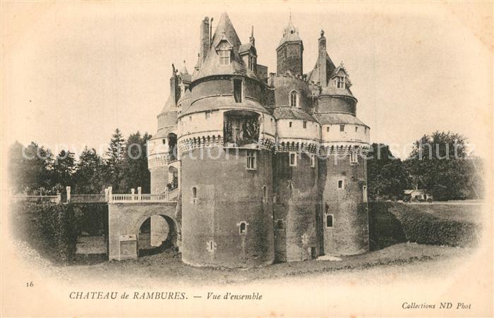 AK / Ansichtskarte Rambures Chateau Rambures 0