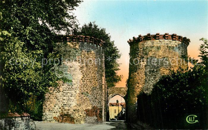 AK / Ansichtskarte Saint Valery sur Somme La Porte Guillaume Saint Valery sur Somme