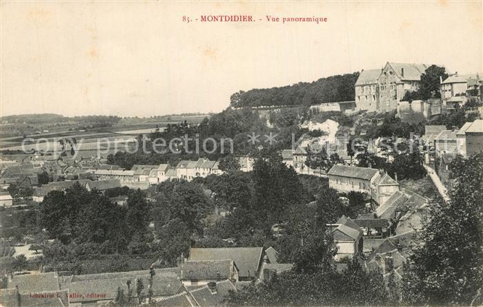 AK / Ansichtskarte Montdidier_Somme Vue panoramique Montdidier Somme 0