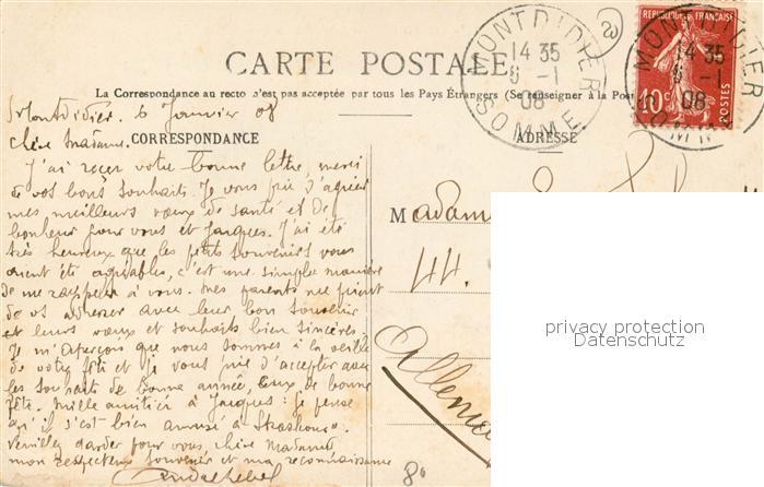 AK / Ansichtskarte Montdidier_Somme Vue panoramique Montdidier Somme 1