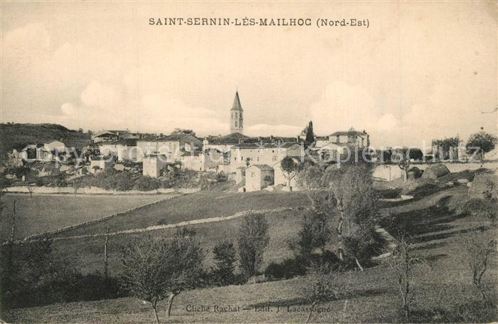 AK / Ansichtskarte Saint_Sernin_les_Mailhoc Vue generale  0