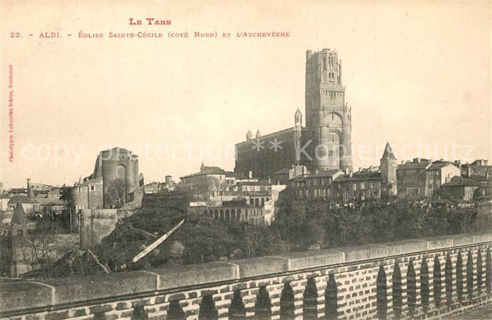 AK / Ansichtskarte Albi_Tarn Eglise Sainte Cecile Archeveche Albi_Tarn 0