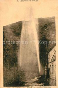 AK / Ansichtskarte Les_Cammazes Vallee de Malamort Usine Electrique Montagne Noire Les_Cammazes