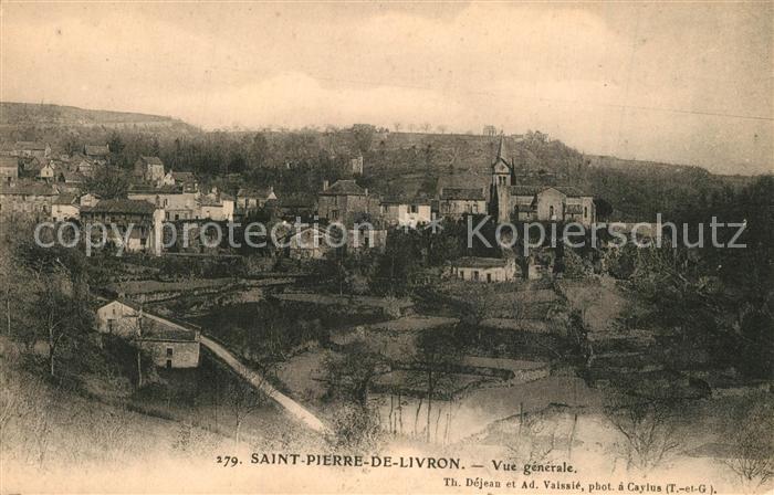 AK / Ansichtskarte Saint_Pierre_de_Livron Vue generale  0